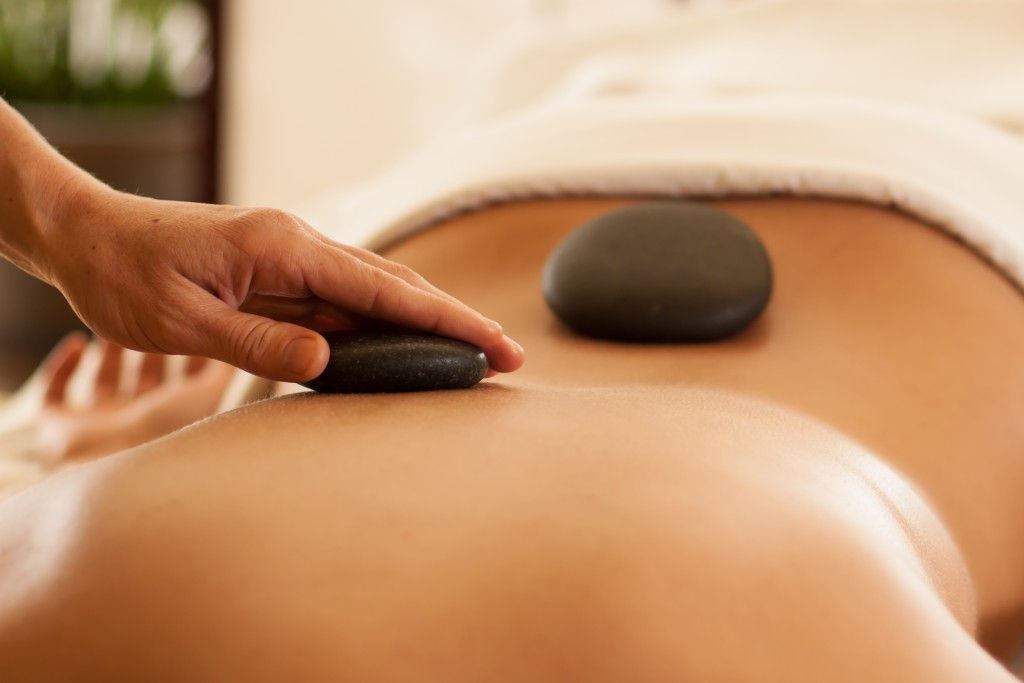 Hot stone massage by Dreamclinic Massage Seattle and Redmond