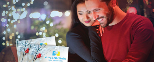 Receive $60 in value with every Dreamclinic gift card purchase